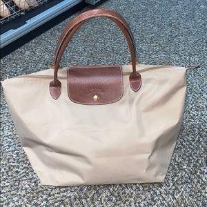 Longchamp Le Pliage Large Tote Bag Tan